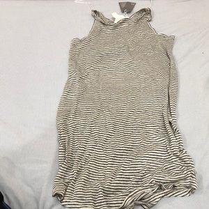 Long, striped dress